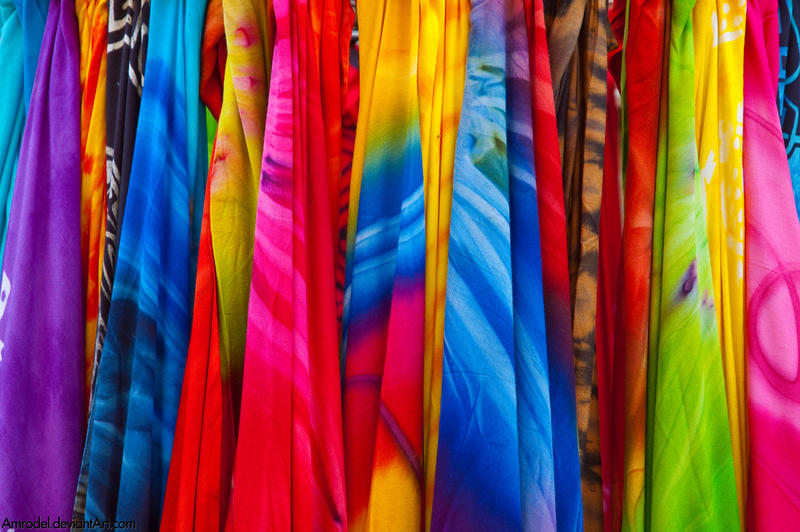 colourful scarves by amrodel on deviantart