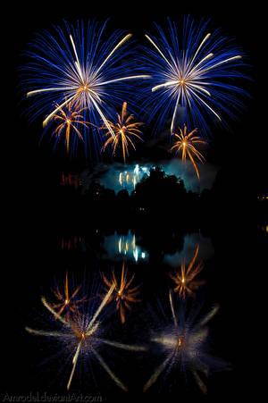 Fireworks III by amrodel