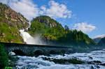 Waterfall Latefosssen