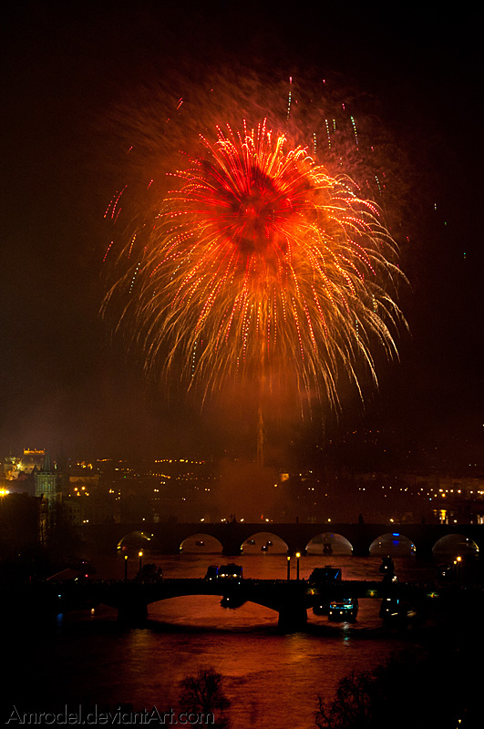 Demonic Fireworks by amrodel
