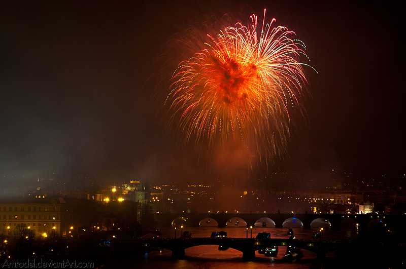 Demonic Fireworks II by amrodel
