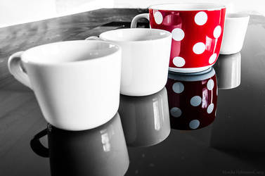 10/52 Week Photo Challenge: White Dots by amrodel