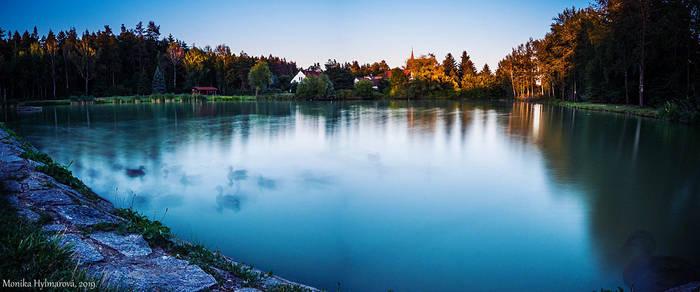 Ghost Ducks Pond