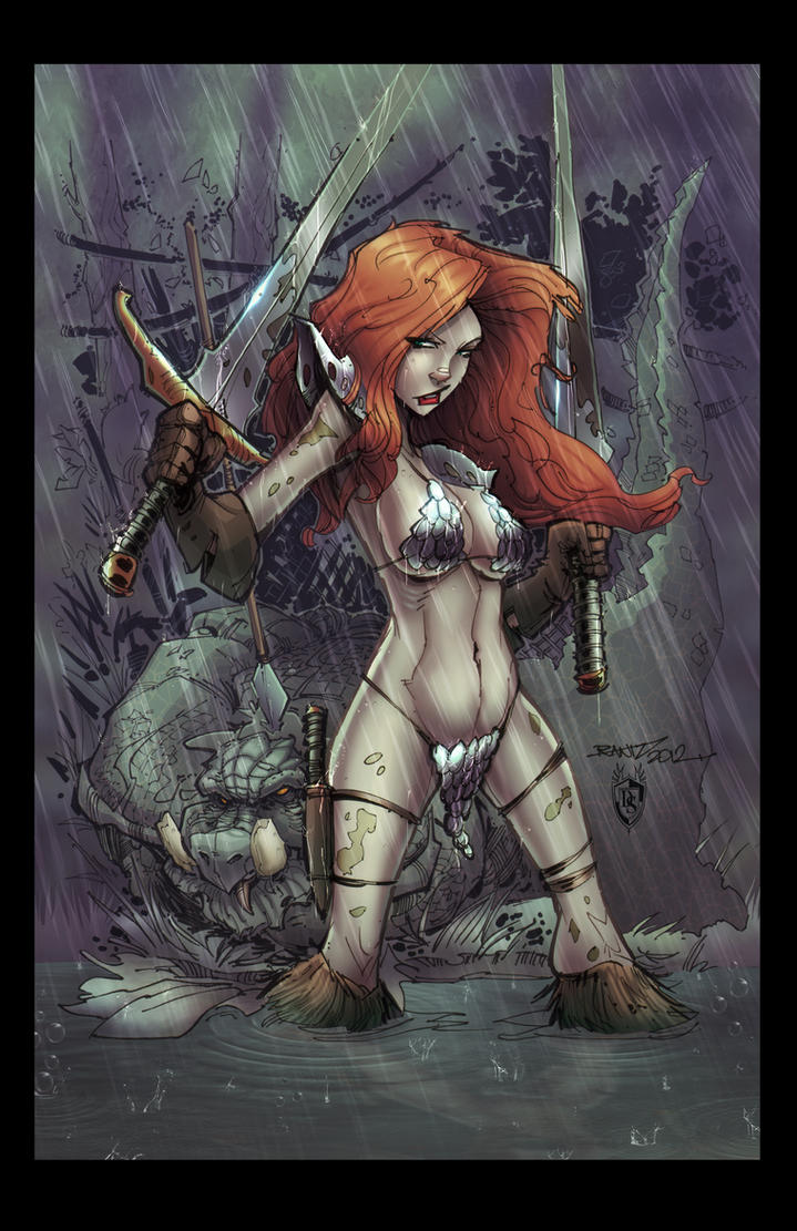 Red Sonja Colors by FableBound