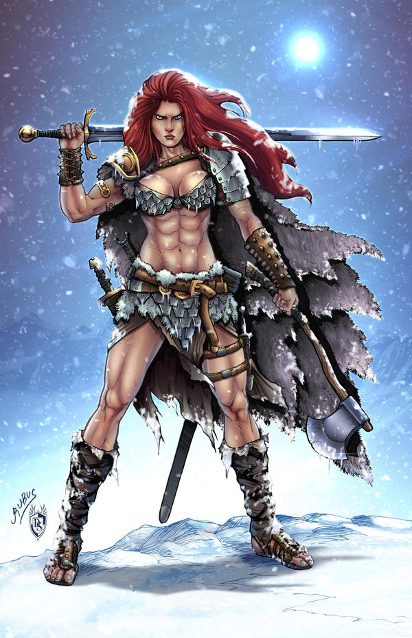 Savage Red Sonja COLORS by FableBound