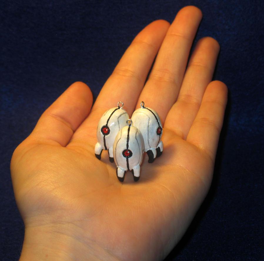 Palm-Sized Turrets by zynwolf