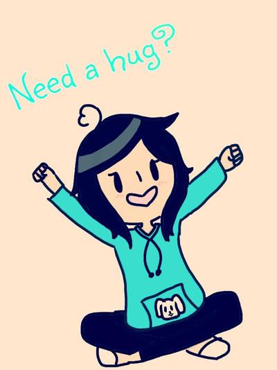 Need a hug? by sweetpink123