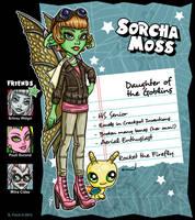 OC Bio - Sorcha Moss by shannaniganart