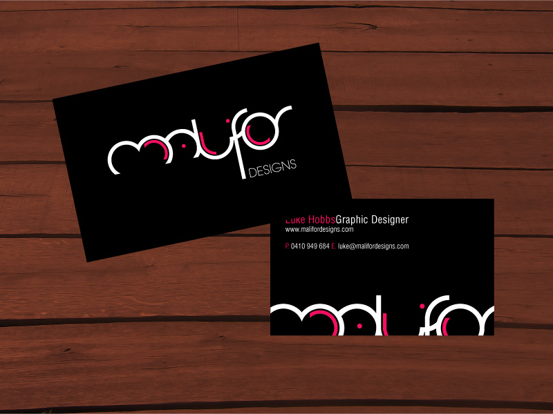 Malifor Designs business card by malifor-