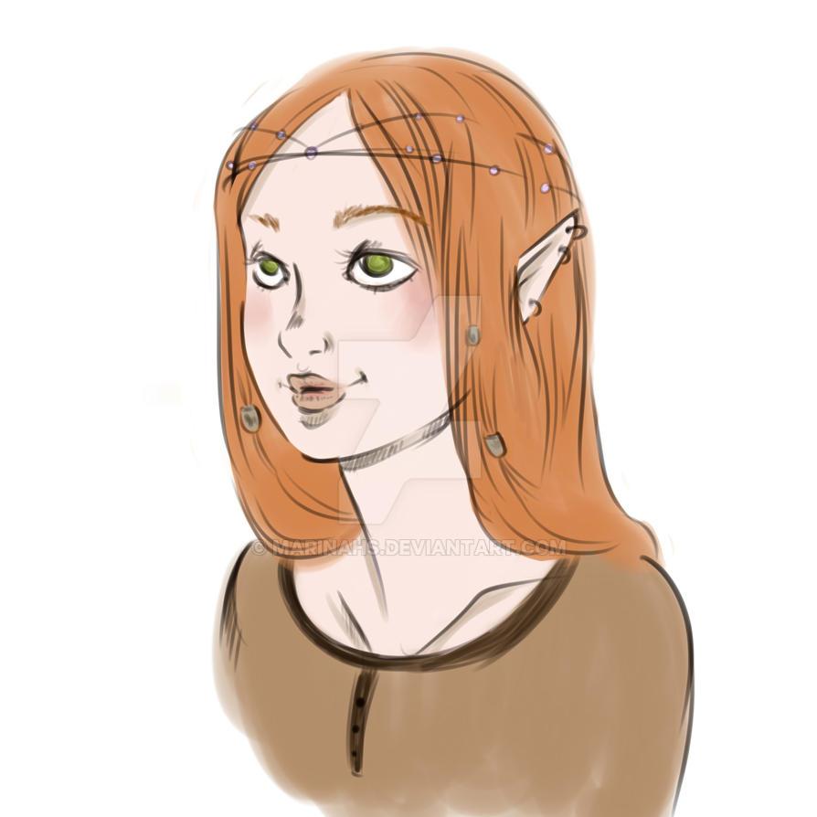 Elf by Marinahs