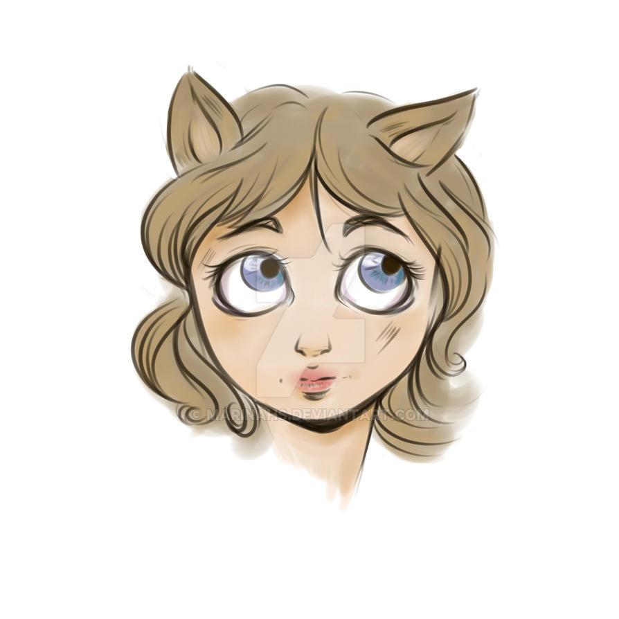 Wolf by Marinahs