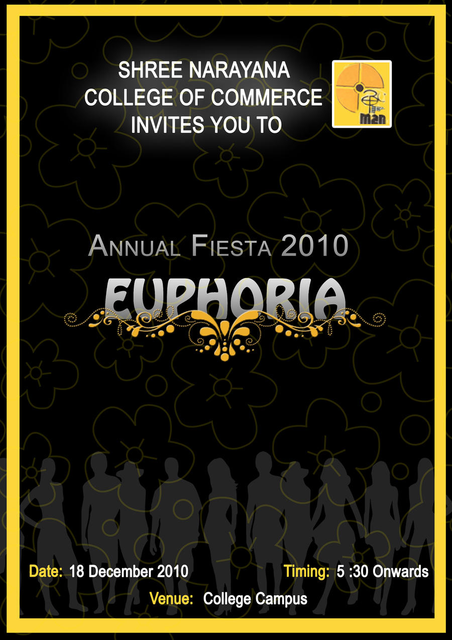 Annual function Poster by Siksha on DeviantArt