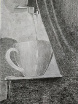 Value study - A cup