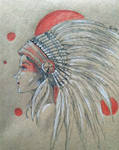Native American Indian Girl for Rosie