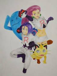 Team Rocket for Rik by Fairka