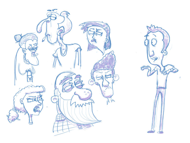 Disapprovingdoodles by CameronClarkFilm