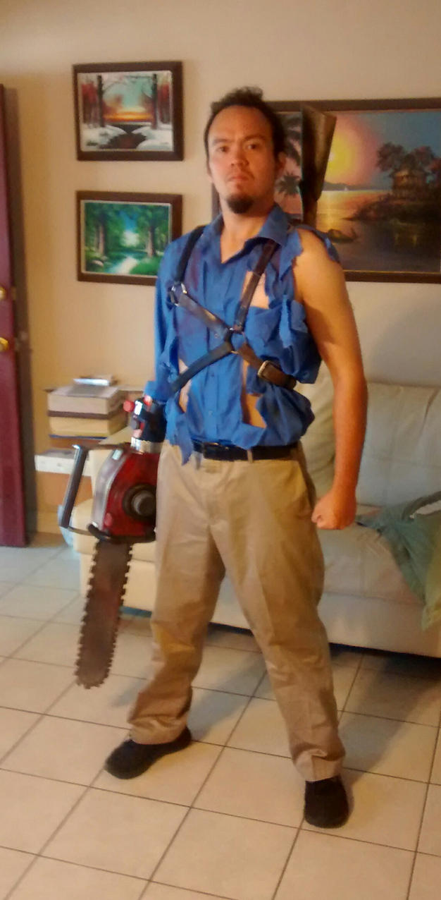 ash williams cosplay by epickickboxer