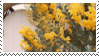 Yellow Flowers Stamp by Onikos25