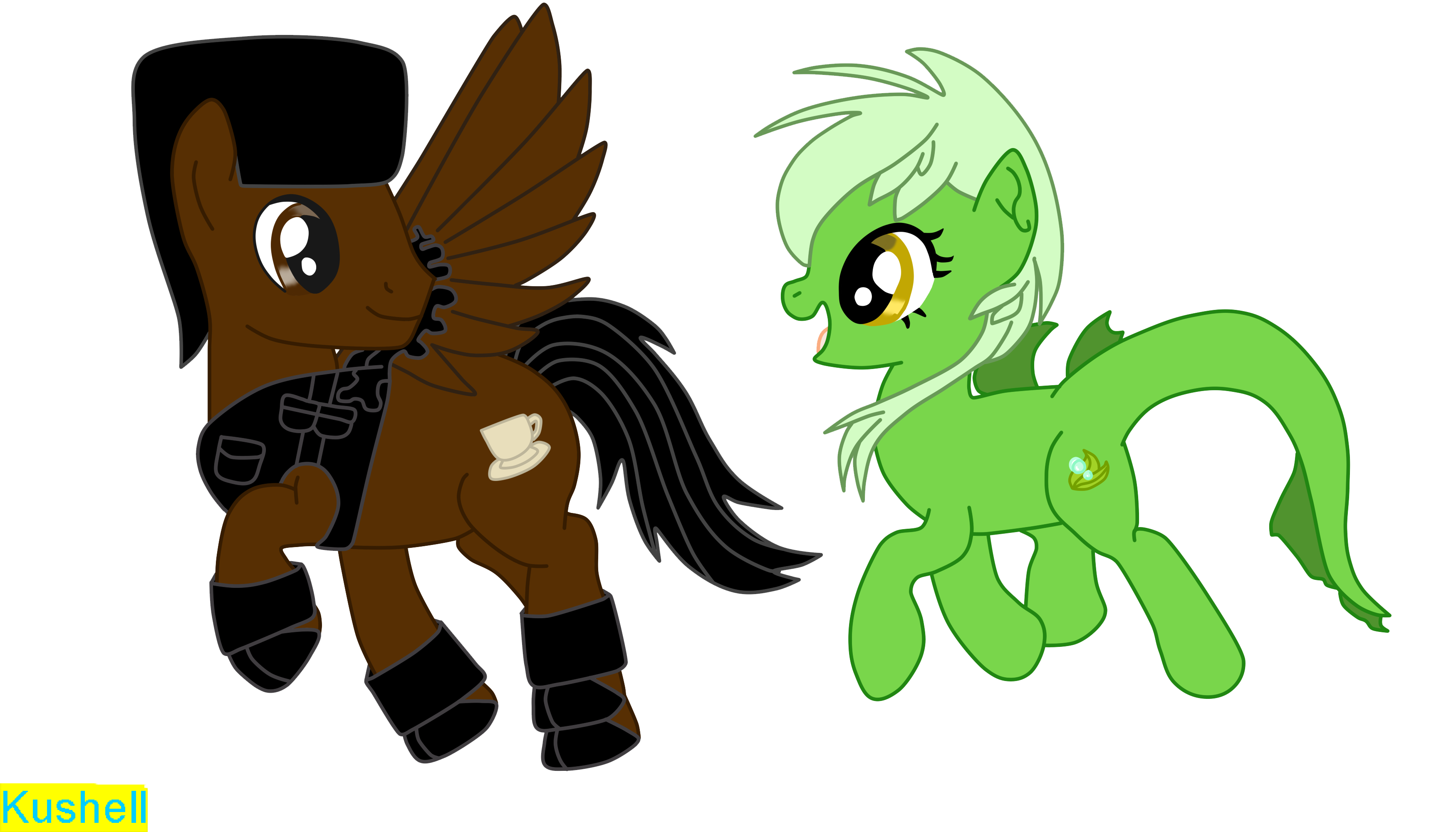 Walking Together - Decaf x Briny - Vector (PC) by Kushell