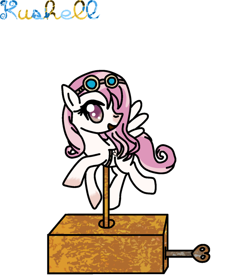 Ych Batch Number Three: Created YCH Number 8 (Music Box Pony A)