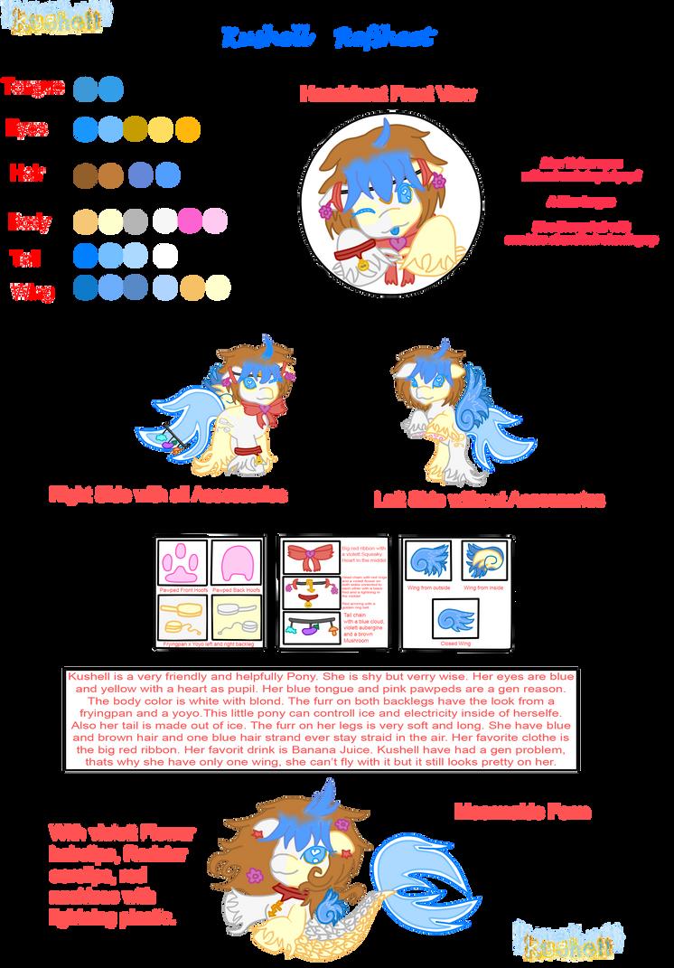 Kushell Pony - New Style Refsheet by Kushell