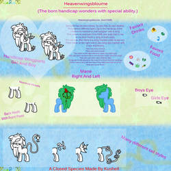 Heavenwingsbloume - Closed Creature Guide by Kushell