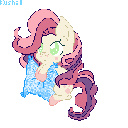 Pony Pillow Time - Nr 1 - (Xmas Present) by Kushell