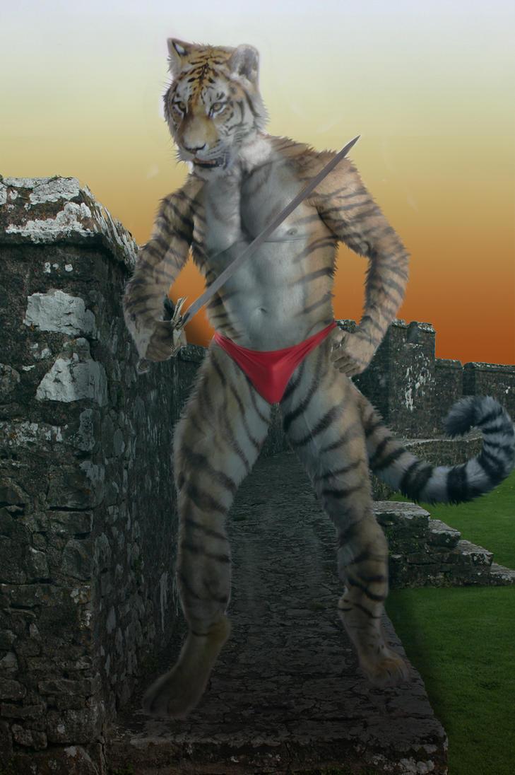 Tiger Warrior by pythos-cheetah on DeviantArt