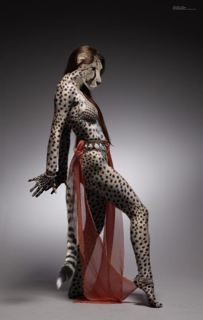 Smoldering Cheetah Temptress by pythos-cheetah