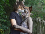 Young Werefoxes in Love