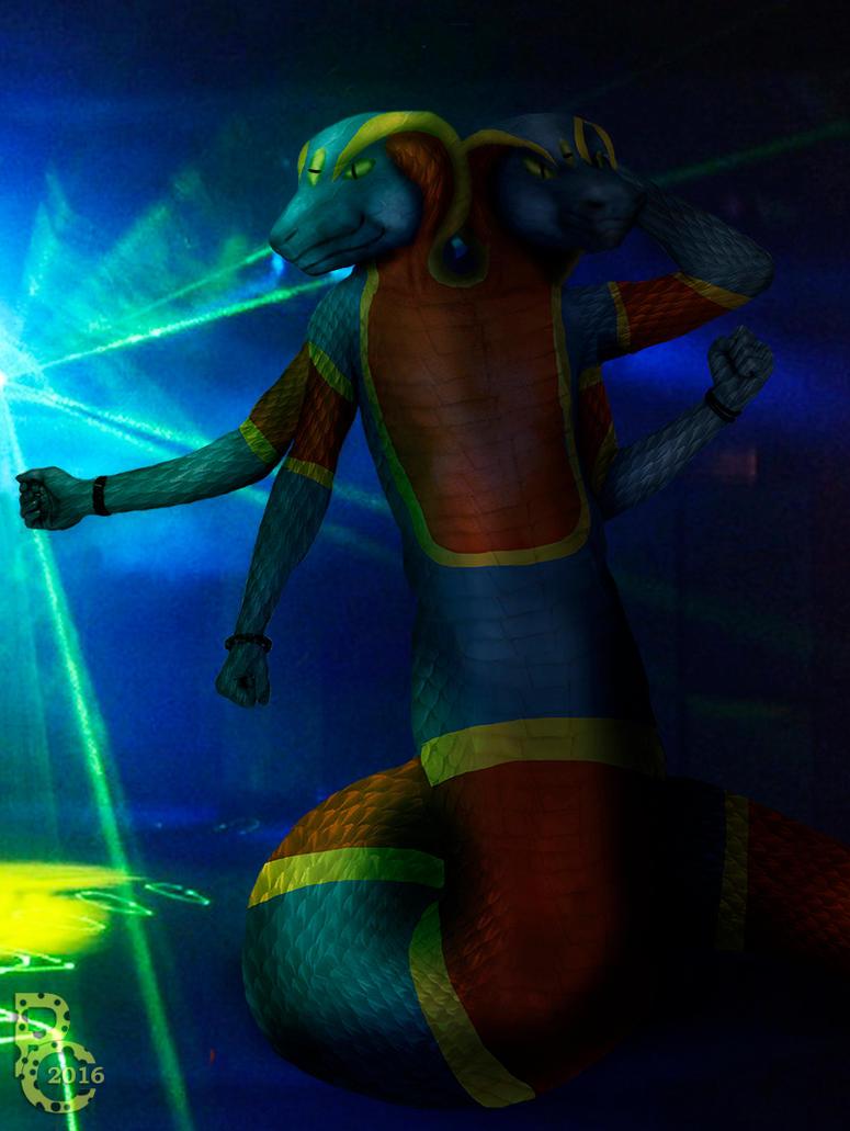 Snake on the Dancefloor by pythos-cheetah