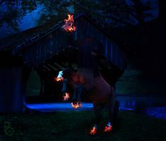Headless Horse-Man by pythos-cheetah
