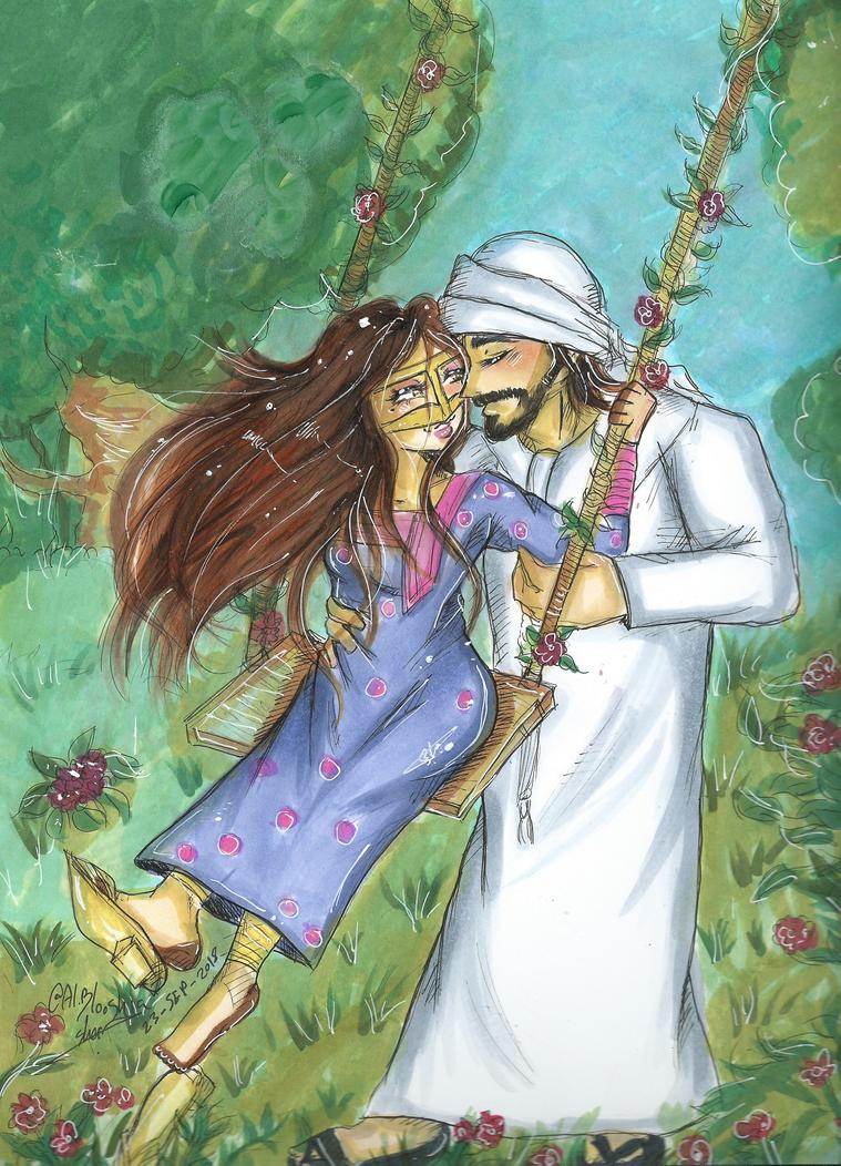 You and me by AlBlooshia