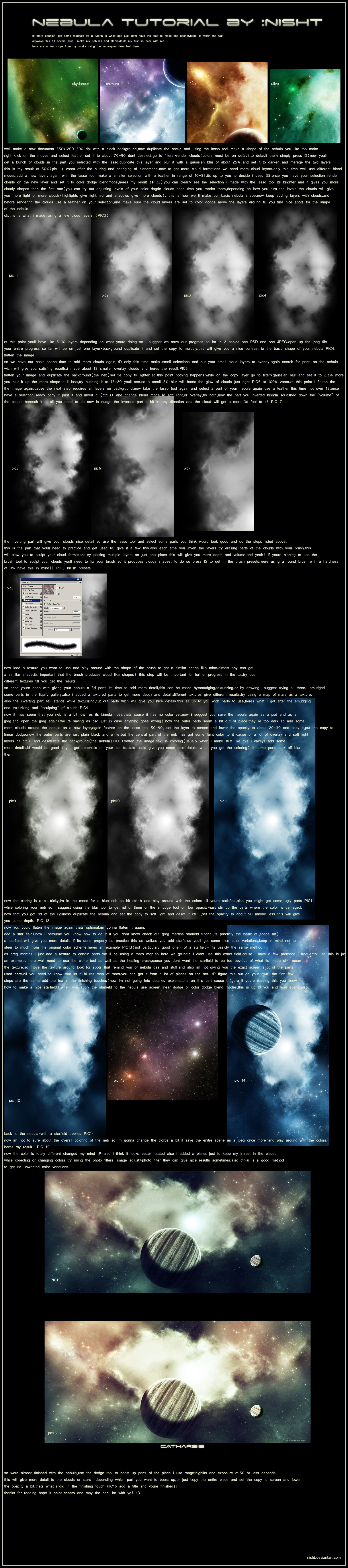 nebula tutorial by nisht by nisht