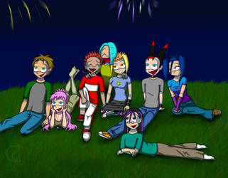 Happy 4th.. day late x3
