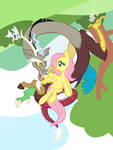Fluttershy and Discord, Best Friends 5ever!