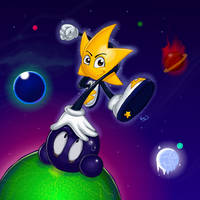 Ristar the Shooting Star by Nate-D