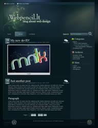 Kinda Teal Wordpress Theme by Mantiuxa