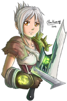 League of Legends - Riven by ClowKusanagi