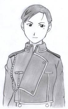 Lt. Maria Ross - Inked