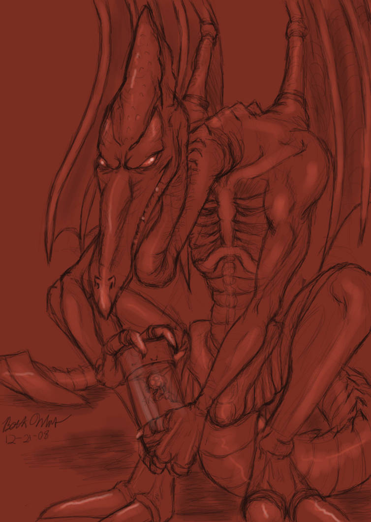 Ridley doodle by anniefelis