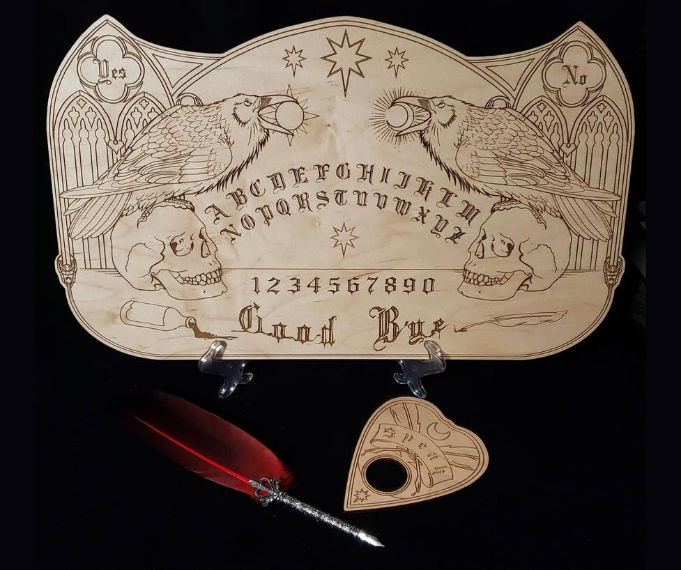 Raven Messenger Talking Board by redrevvy