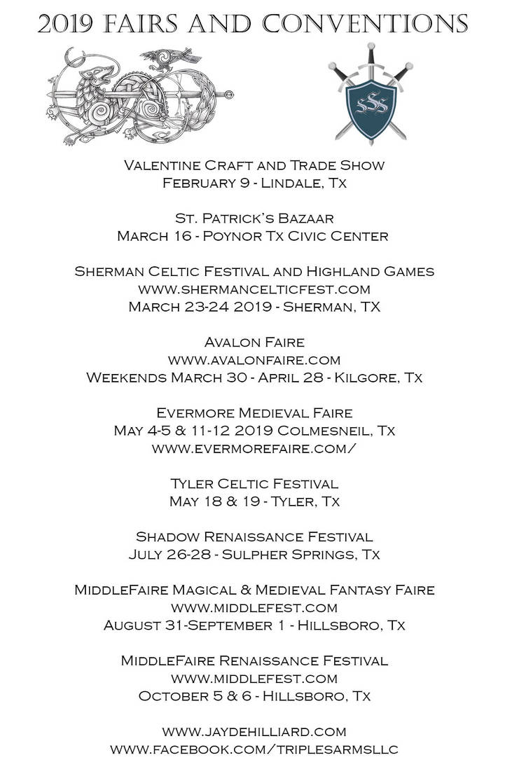 2019 Show Schedule (Updated) by redrevvy
