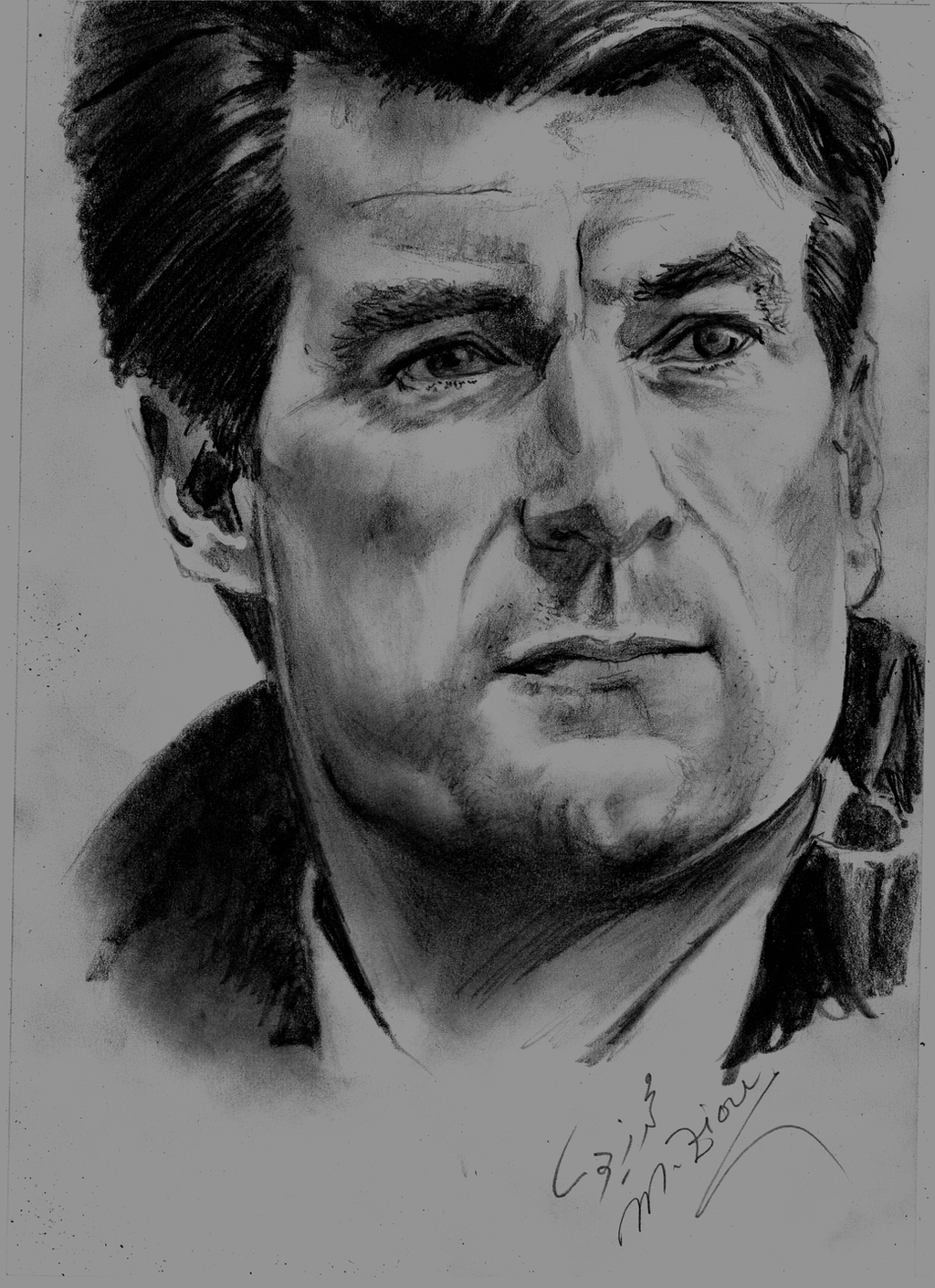 Michael Laudrup by Mohamed Ziou by MoZiou on DeviantArt