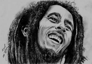 Bob Marley by Mohamed Ziou by MoZiou