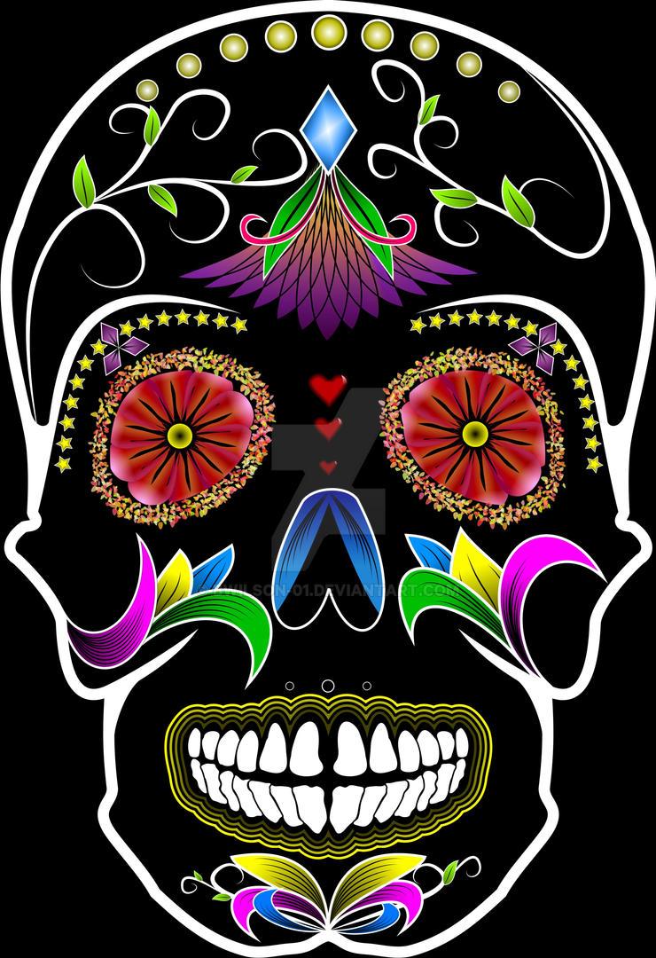 Sugar Skull by bwilson-01 on DeviantArt