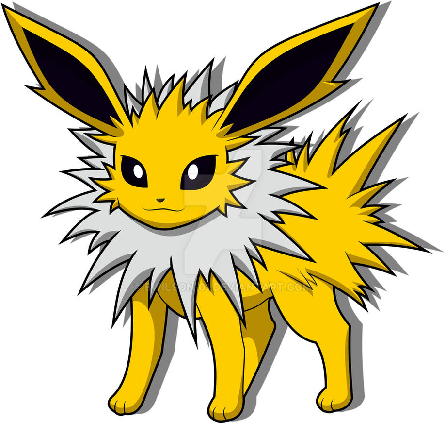 jolteon by bwilson01 on deviantart