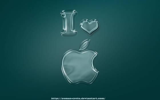 i love apple