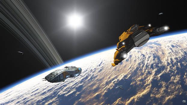 Orbital Rendezvous