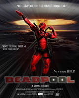 Deadpool movie poster of Doom by Devitch